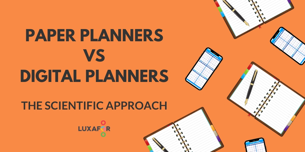 5 Science-Backed Reasons Why Paper Planners Are Better Than Digital Planners and Calendars